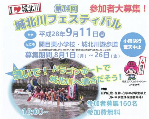 城北川フェス