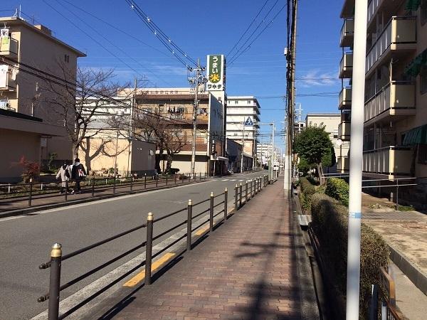 今福東医療モール計画予定地の周辺①