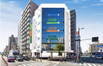 今福鶴見新築医療ビル計画パース絵