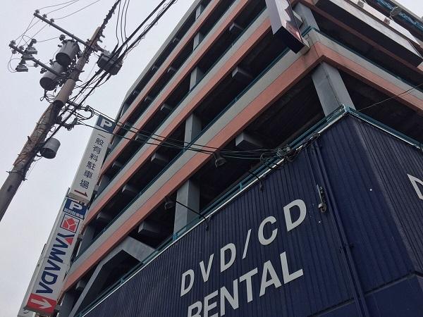 USV鶴見店 上部駐車場