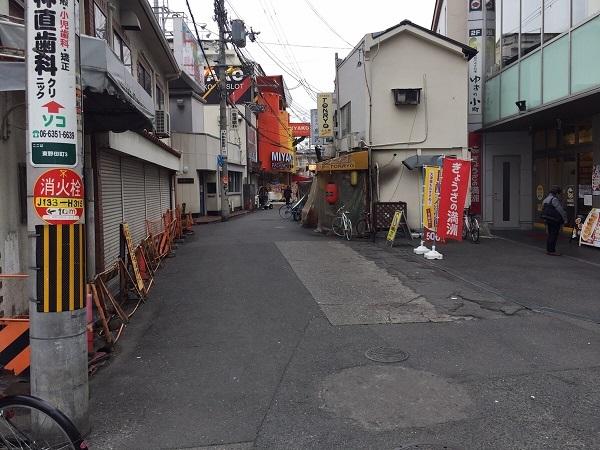 やっぱりステーキ京橋駅前店への道順③
