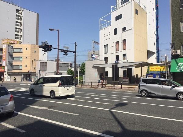 最寄りの駅「JR大阪城北詰駅」