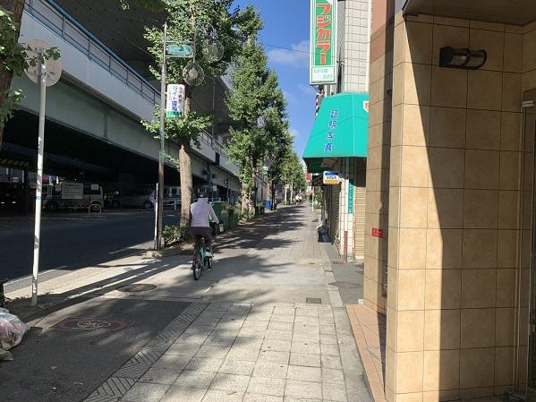 お店の周辺①(森ノ宮方面)
