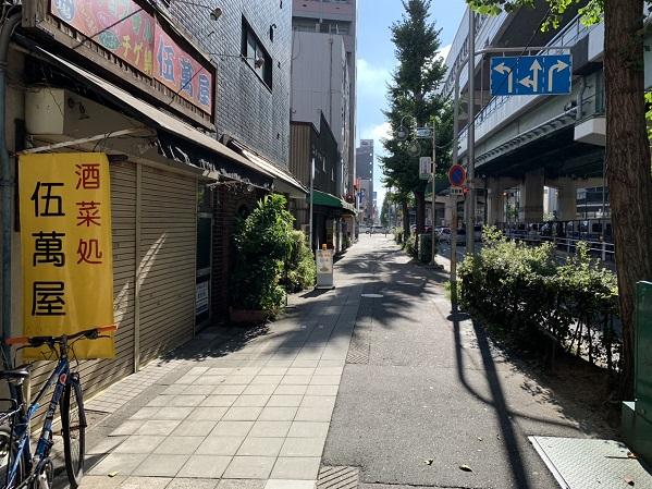 お店の周辺②(緑橋方面)