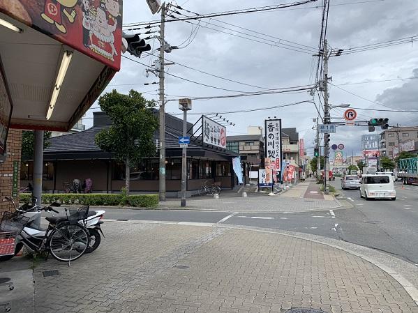お店の周辺景観②(香の川製麺)