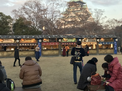 大阪城 9
