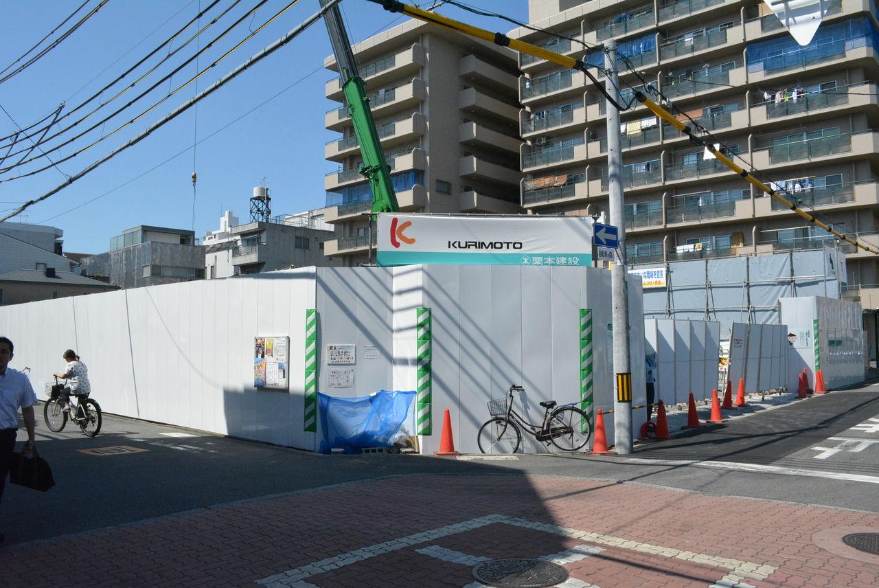 関目高殿駅からすぐのところに倉庫らしきものができるみたい。もと駐 ...