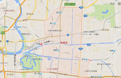 城東区地図